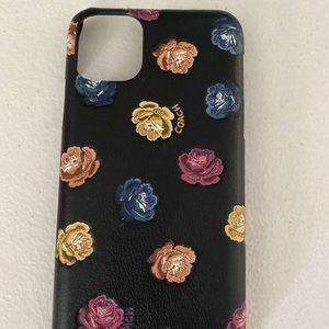 Coach iPhone 11 pro max case